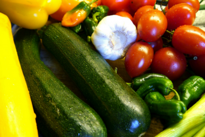 Gascony Cookery School - vegetables